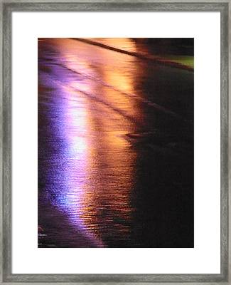 Water Colours 12 Framed Print by Bernie Smolnik