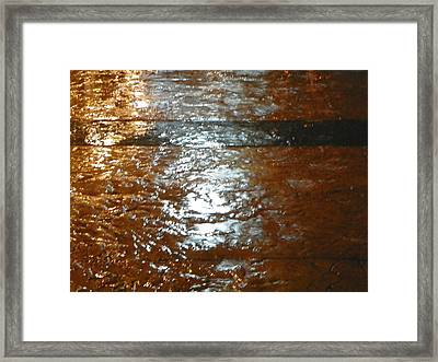 Water Colours 23 Framed Print by Bernie Smolnik