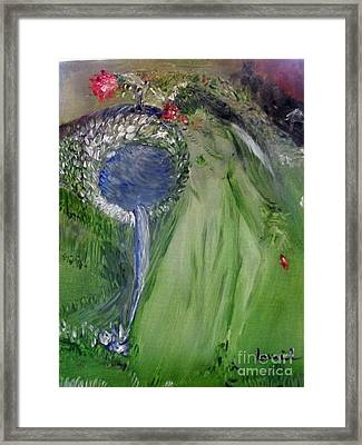 Water Girl Framed Print by Laurie L