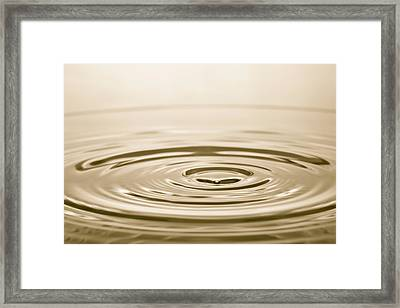 Water Framed Print by Phillip Hayson