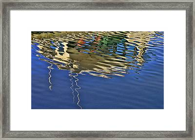 Water Reflections 4 Framed Print by Allen Beatty