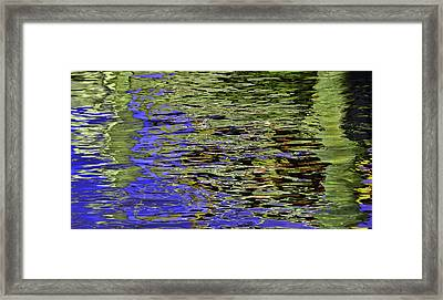 Water Reflections 5 Framed Print by Allen Beatty