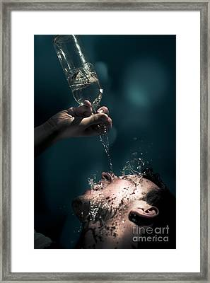 Water Framed Print by Jorgo Photography - Wall Art Gallery
