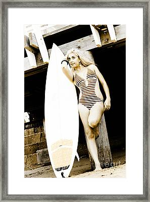 Water Sport And Recreation Framed Print