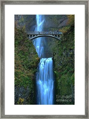 Water Under The Bridge Framed Print by Adam Jewell