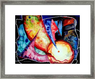 Watercolor Fantasy Framed Print