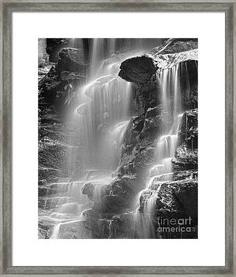 Waterfall 05 Framed Print by Colin and Linda McKie
