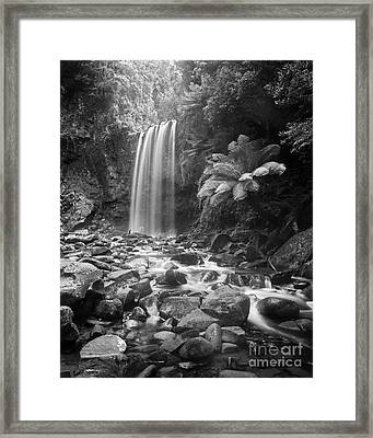 Waterfall 09 Framed Print by Colin and Linda McKie
