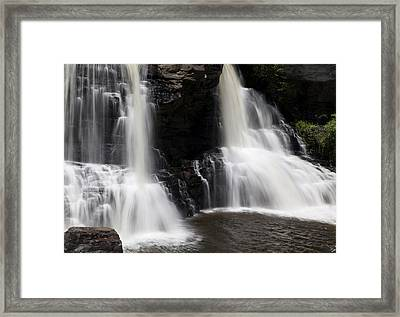 Waterfall 2 Framed Print by David Lester
