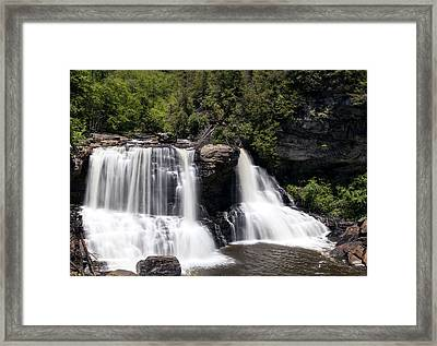 Waterfall 3 Framed Print by David Lester