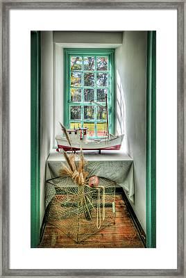 Watermans Window Framed Print