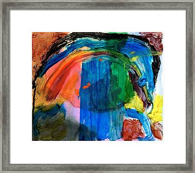 Wave Of Life Framed Print