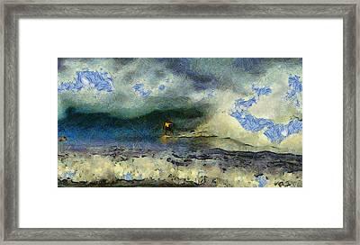 Wave Runner  Framed Print