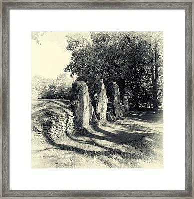 Wayland's Smithy Barrow Framed Print