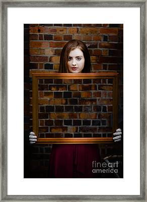 We All Fade And Disappear Framed Print by Jorgo Photography - Wall Art Gallery