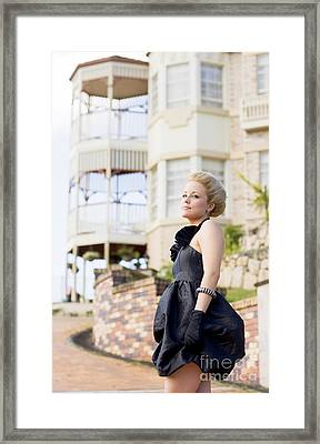Wealthy Woman Framed Print by Jorgo Photography - Wall Art Gallery
