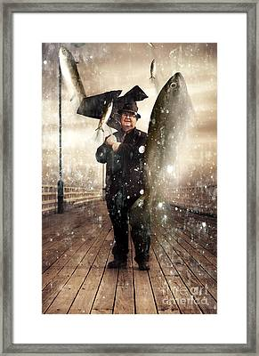 Weather Of Abundance Framed Print