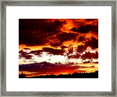 Weather Framed Print by Rona Black