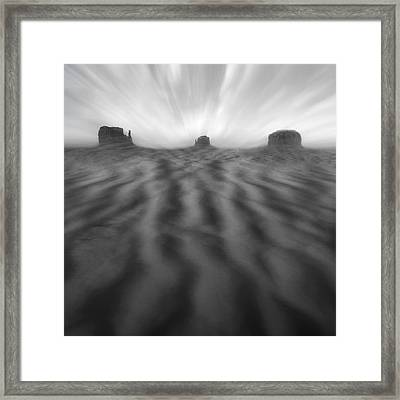 Weathered Framed Print by Mike McGlothlen