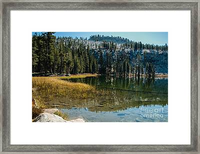 Weaver Lake- 1-7686 Framed Print