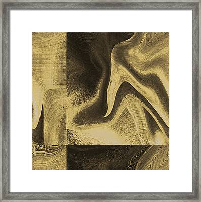 Weaves Framed Print by Yanni Theodorou
