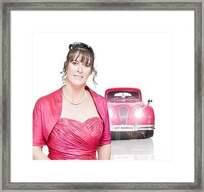 Wedding Day Framed Print by Jorgo Photography - Wall Art Gallery