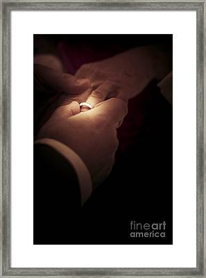 Wedding Rings Framed Print by Jorgo Photography - Wall Art Gallery