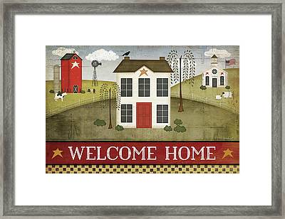 Welcome Home Framed Print
