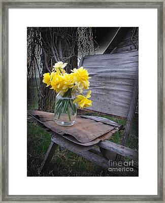 Welcome Home Framed Print by The Stone Age