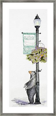 Welcome To Bozeman Framed Print