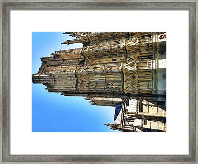 Wells Cathedral Framed Print by James Bradley
