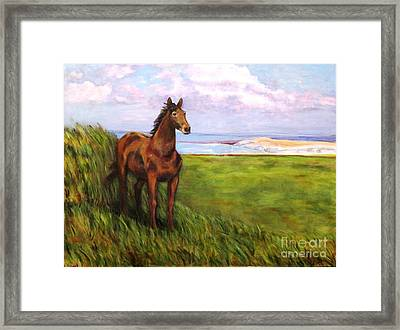 Welsh Breezes Framed Print by Ellen Howell