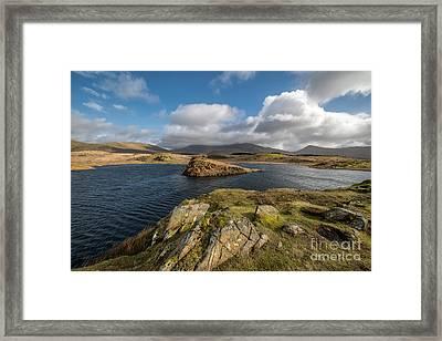 Welsh Lake Framed Print