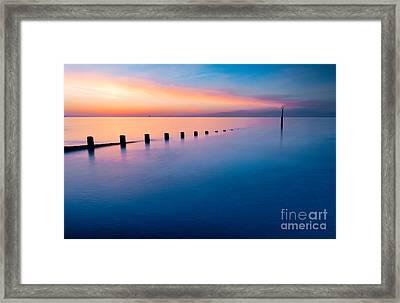 Welsh Sunset Framed Print
