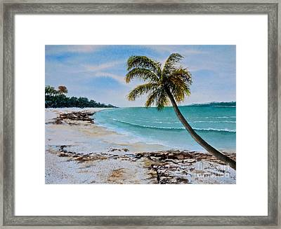 West Of Zanzibar Framed Print by Sher Nasser
