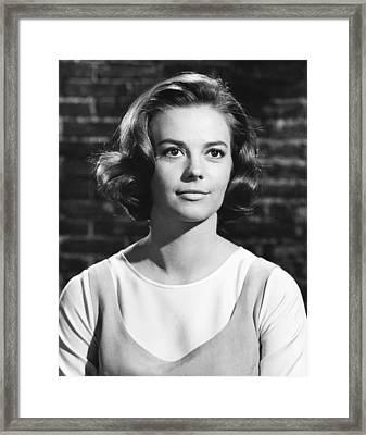 West Side Story, Natalie Wood, 1961 Framed Print by Everett