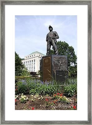 West Virginia Coal Miner Framed Print