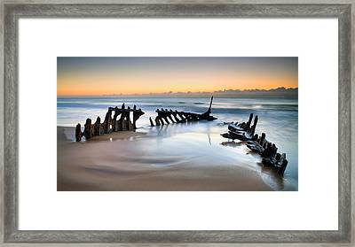 What Lies Beneath 1 Framed Print