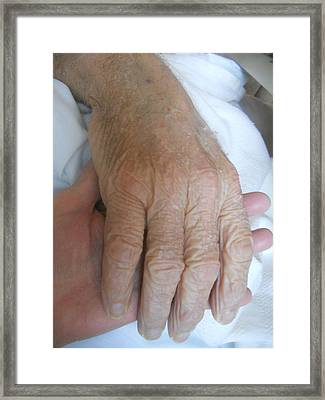 When I Am Old Remember Me Framed Print by Diannah Lynch