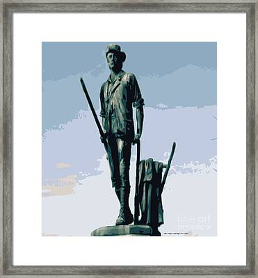 Where It All Began Framed Print by Megan Dirsa-DuBois