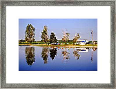 Which Way Is Up Framed Print