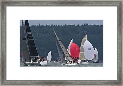 Whidbey Penn Cove Framed Print