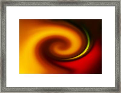 Whirl Framed Print by Chevy Fleet