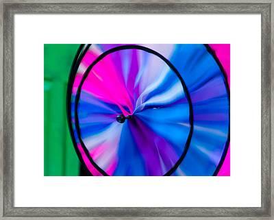Whirligig 3 Framed Print