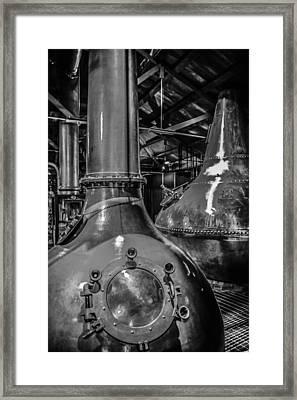 Whiskey Works Framed Print