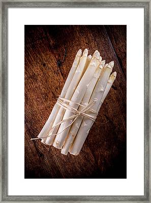 White Asparagus Framed Print by Aberration Films Ltd