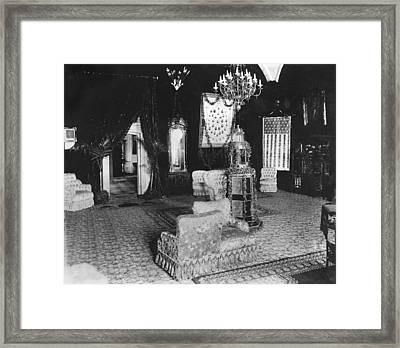 White House Reception Room Framed Print by Granger
