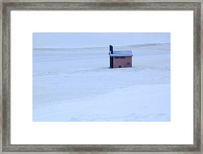 Framed Print featuring the photograph White Sands New Mexico by Bob Pardue