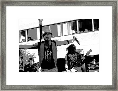 Who's Ready To Party? Framed Print by James Hammen