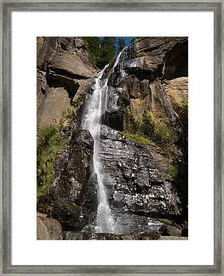 Wide Angle Shot Framed Print